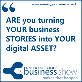 Market your business on-air and online with Knowing Your Business.  The wealth of benefits include a telephone interview live on radio, your own recorded podcast and extensive online promotion. It's unique. And it works.