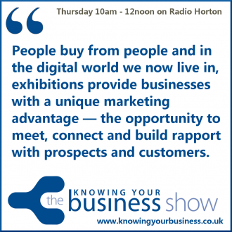 Exhibitions, conferences and trade shows are the perfect platform for meeting key people in your industry — giving you the opportunity to market your business face to face.