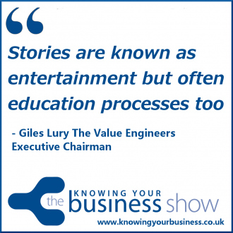 Stories are known as entertainment but often education processes too