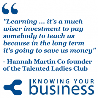 Hannah Martin tells us the unfolding story of the Talented Ladies Club, how it all came about, and where it's going.
