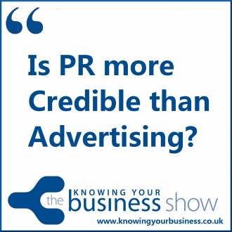 Though PR can bring more credibility, Advertising can reinforce it. It's what we call PR-oriented Advertising.