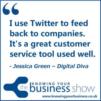 I use Twitter to feed back to companies. It's a great customer service tool used well.