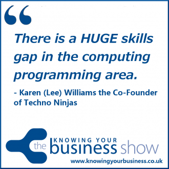 There is a HUGE skills gap in the computing programming area