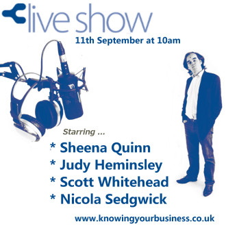 On the 11th September 2014 Knowing Your Business Show we discuss working from home.