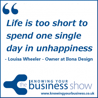Life is too short to spend one single day in unhappiness