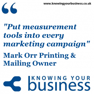Put measurement tools into every marketing campaign