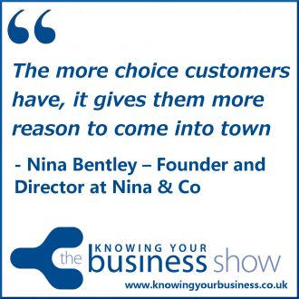 The more choice customers have, it gives them more reason to come into town