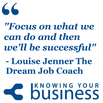 Louise Jenner known as The Dream Job Coach gives us her thoughtful insights on success
